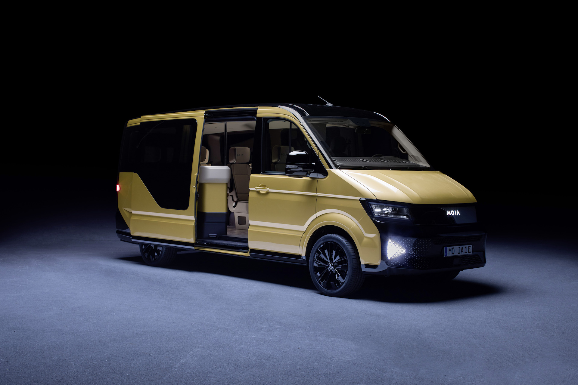 64f9e43f6e Volkswagen Moia electric mobility van is VW s Uber ride-sharing rival