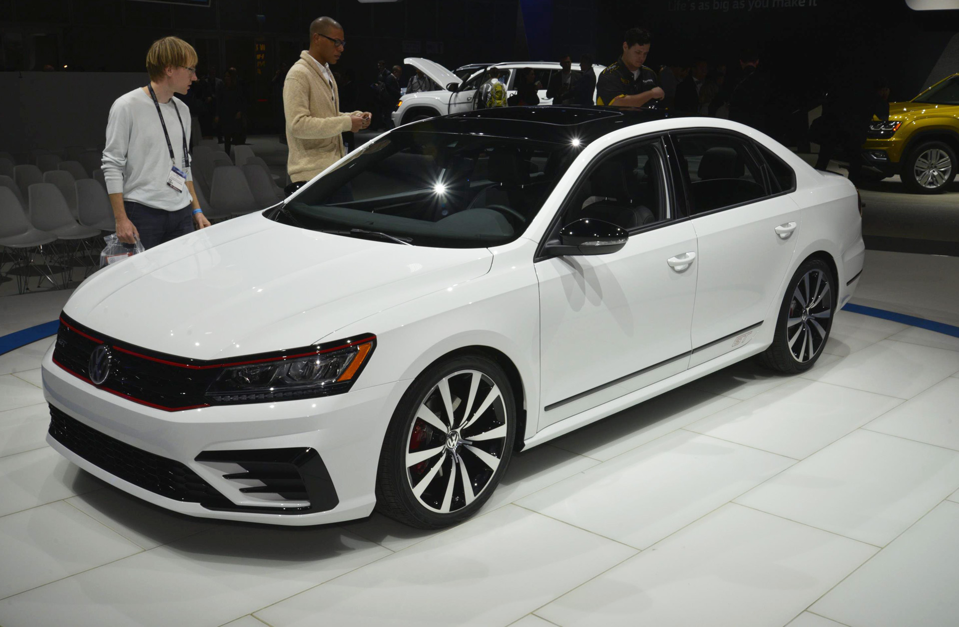 Vw Passat Gt Concept Brings Near R Potential To Family Sedan