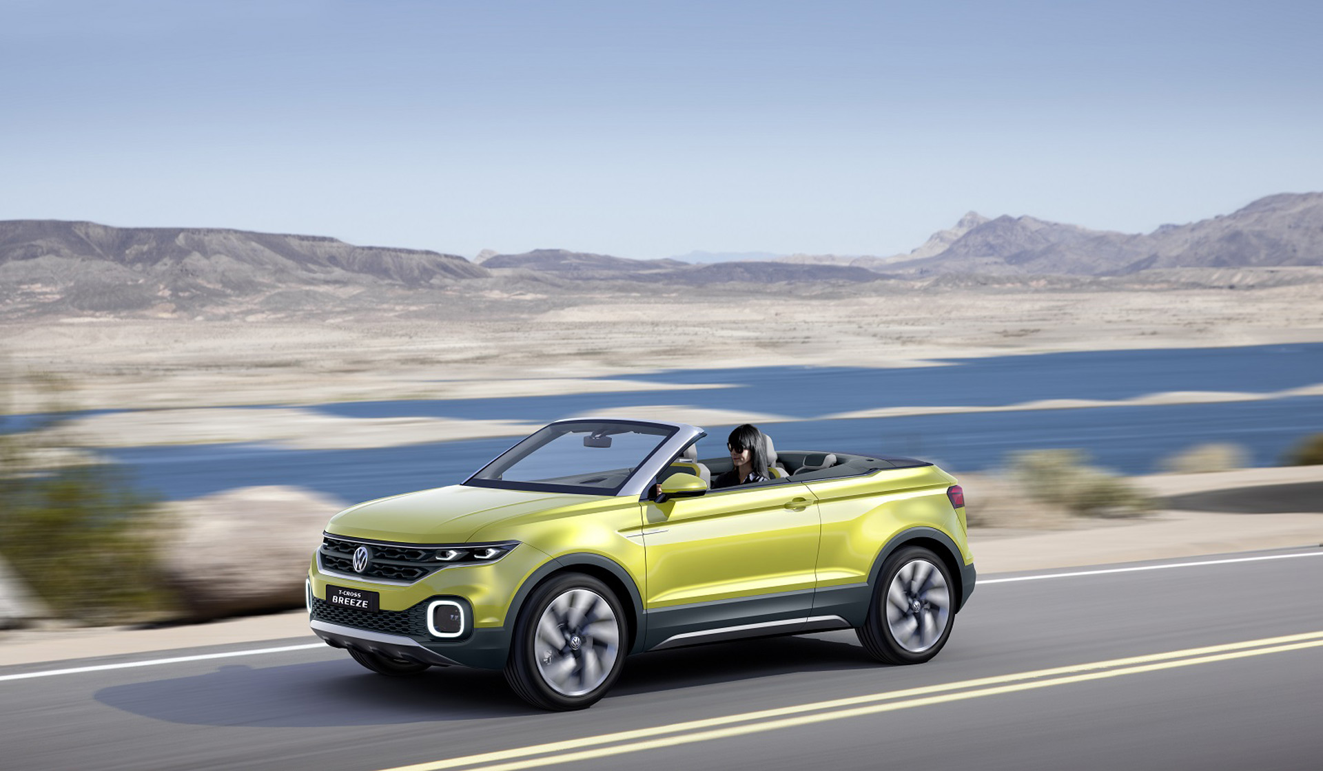 vw t cross breeze concept in geneva previews new small suv. Black Bedroom Furniture Sets. Home Design Ideas