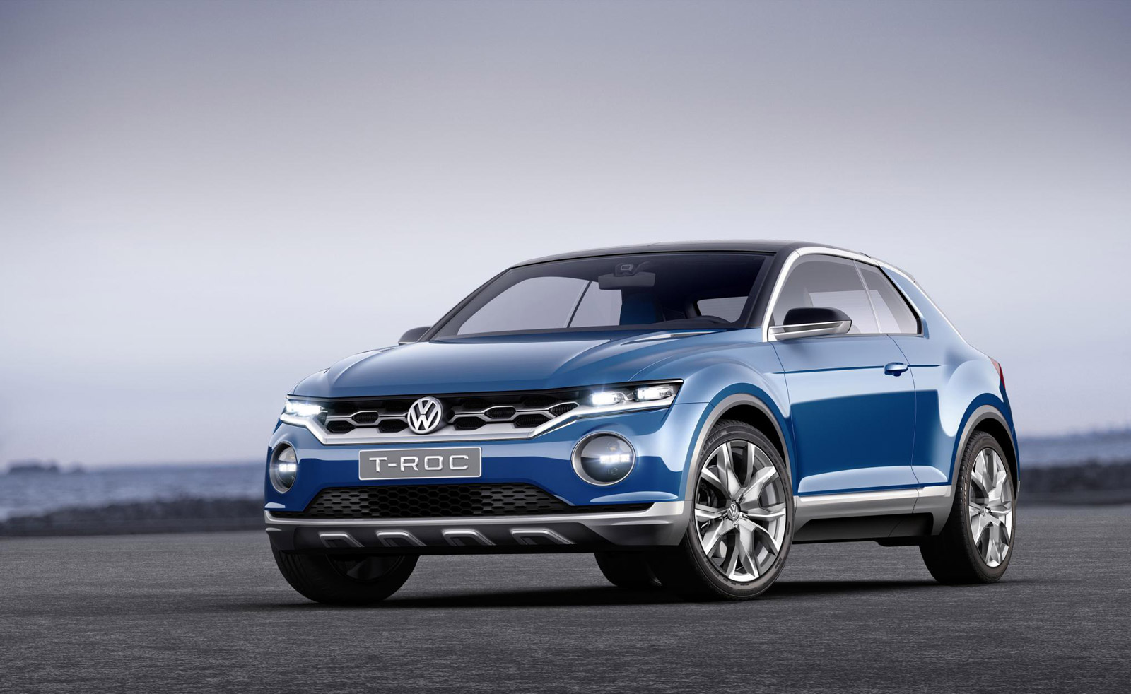 Vw T Roc Compact Suv Bound For Us Possibly Tiny T Cross
