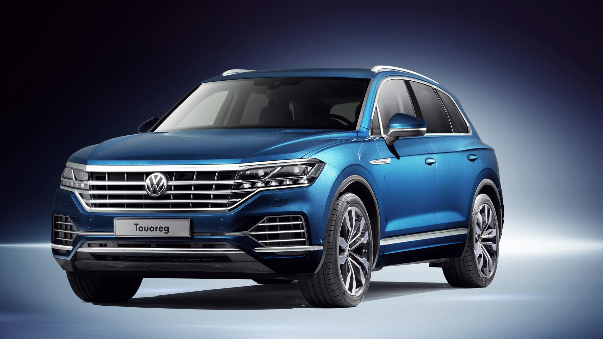 2018 volkswagen touareg revealed. Black Bedroom Furniture Sets. Home Design Ideas