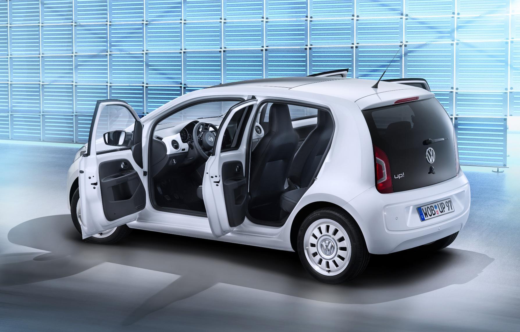 & Volkswagen Up Five-Door Minicar: Forbidden Fruit