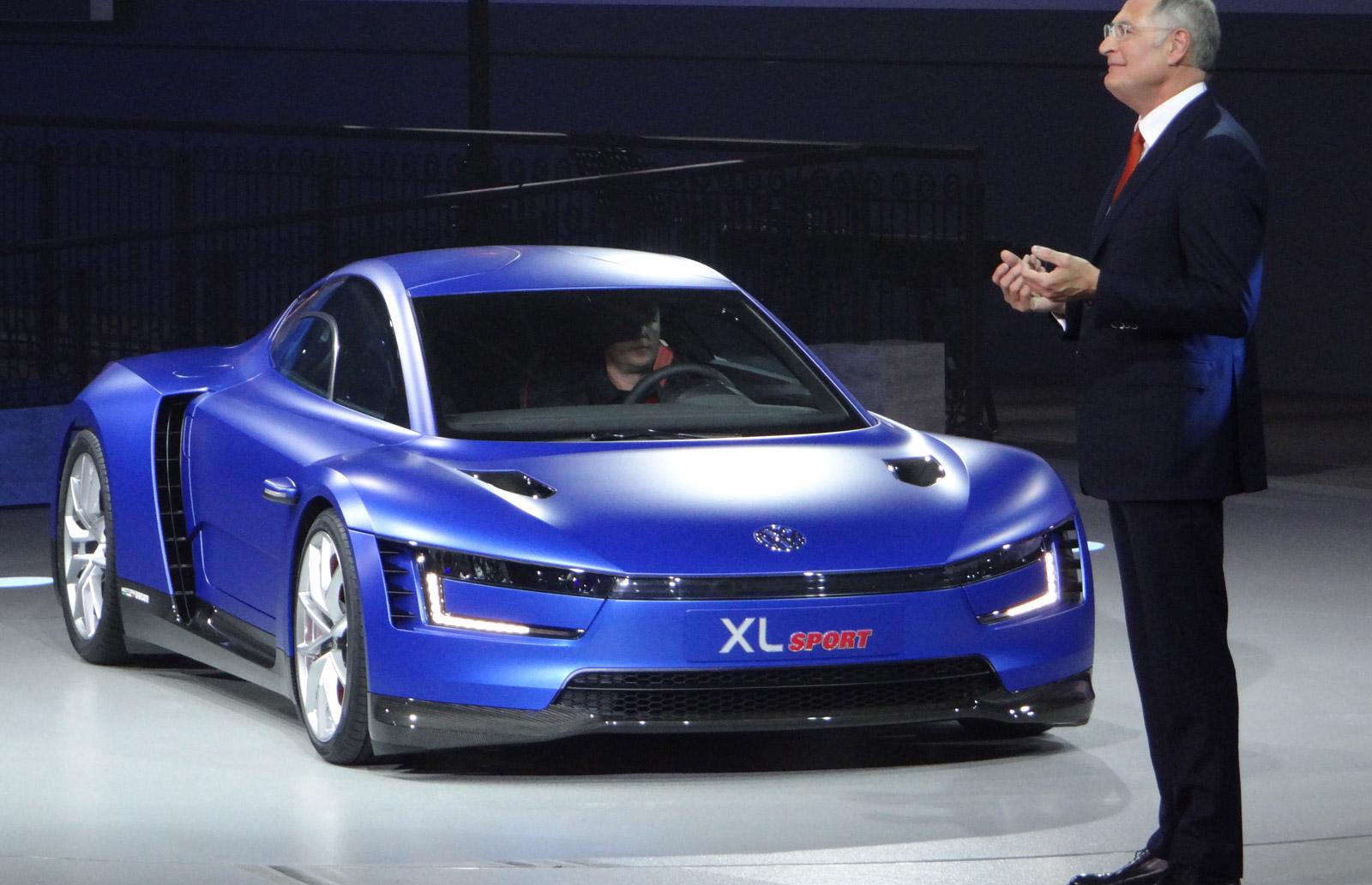 Volkswagen XL Sport At Paris Motor Show: The Details (Video)