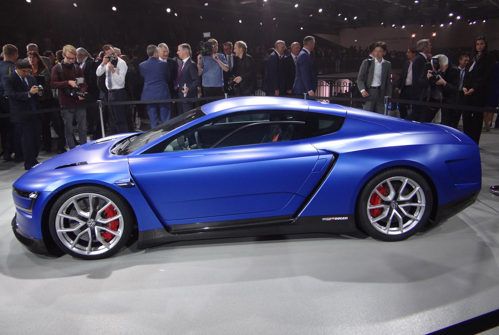 Volkswagen Xl Sport Concept Paris Auto Show H on Tesla Electric Car Frame