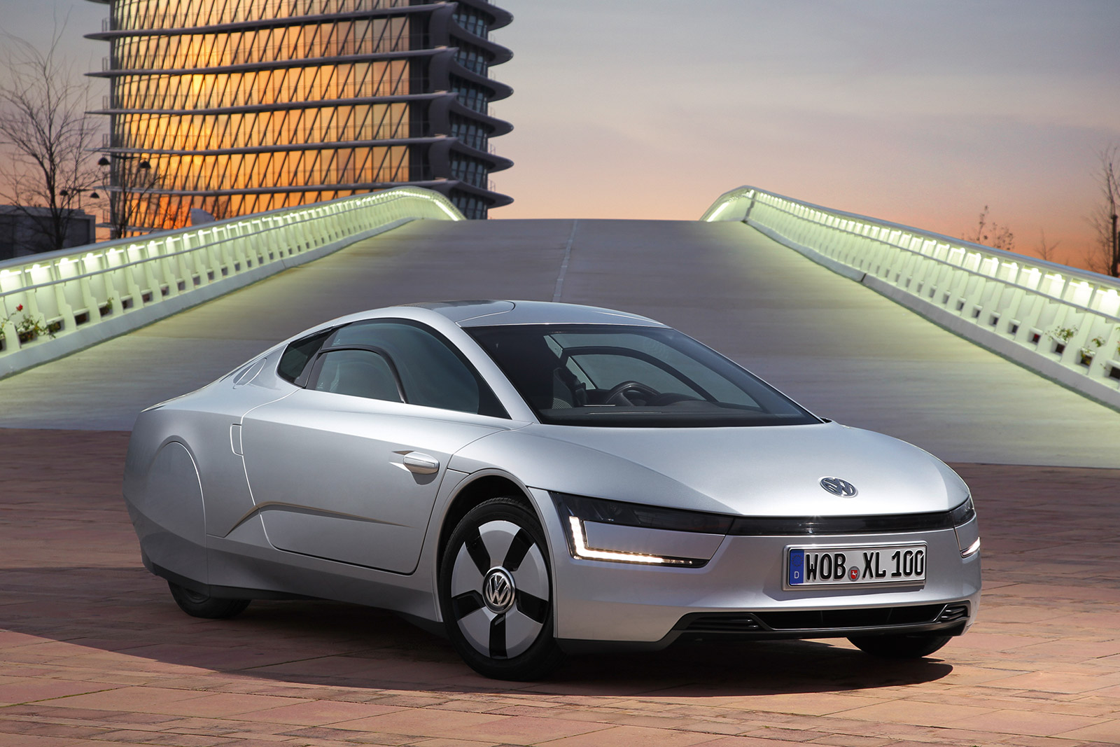 Volkswagen XL1 Diesel Plug-In Gets