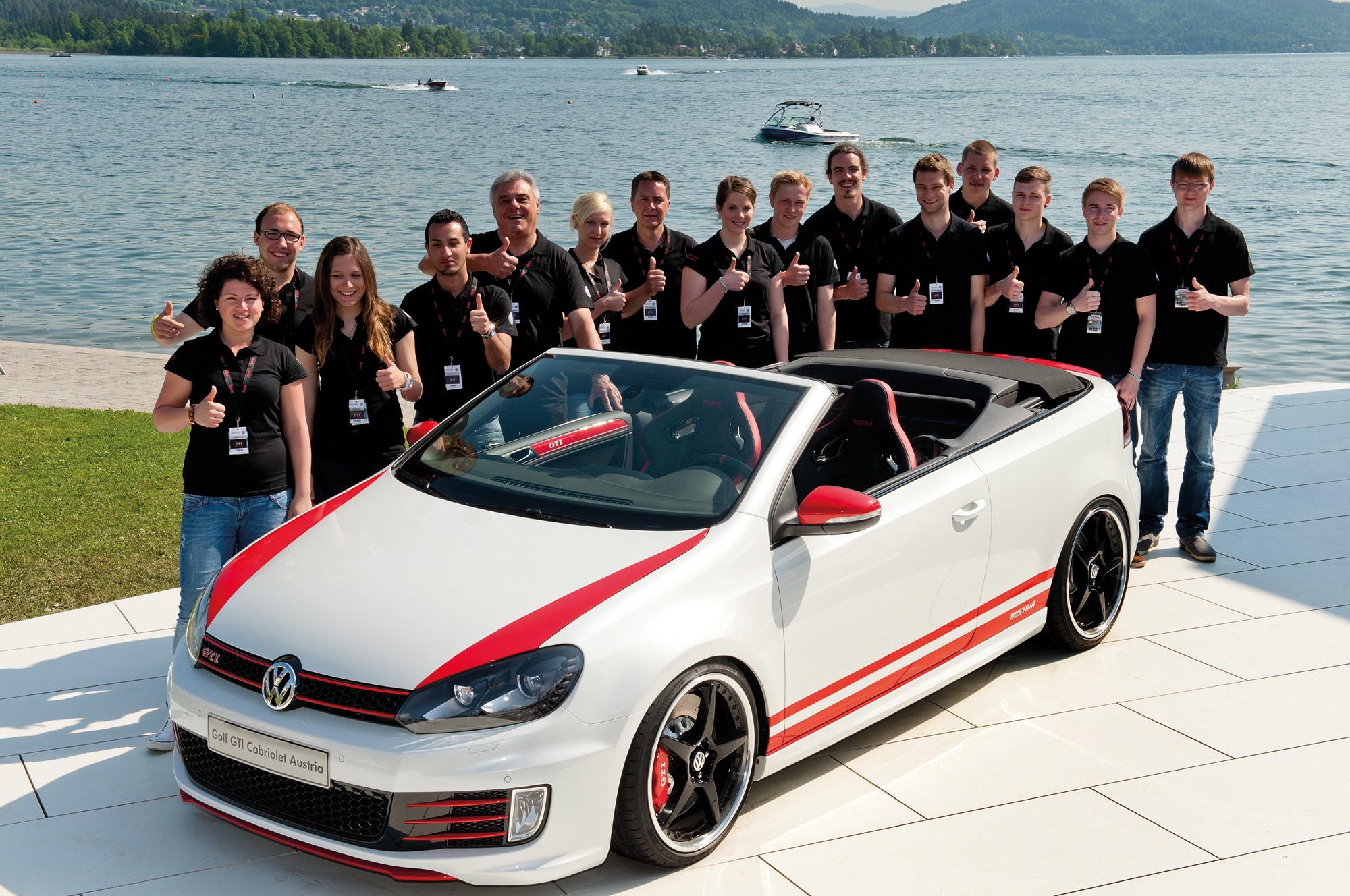 apprentice built w rthersee vw golf gti cabrio is worth a see. Black Bedroom Furniture Sets. Home Design Ideas