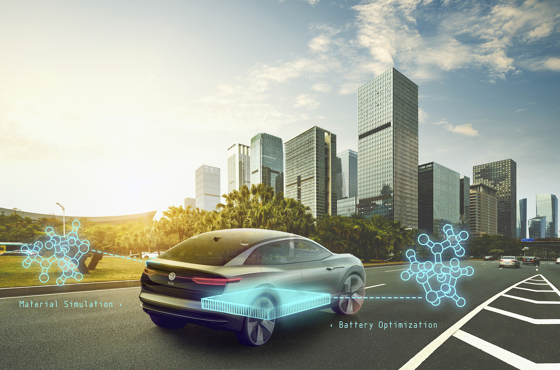 Google and VW will use quantum computers to develop battery, self