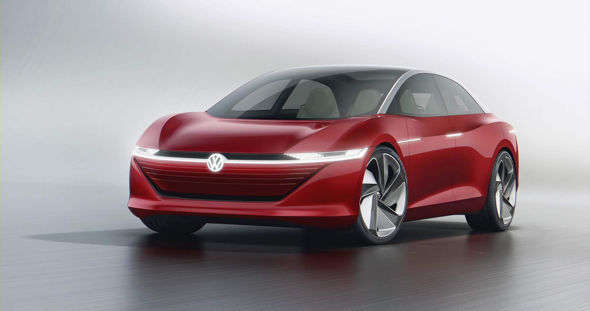 Volkswagen ID Vizzion concept for all-electric sedan by 3
