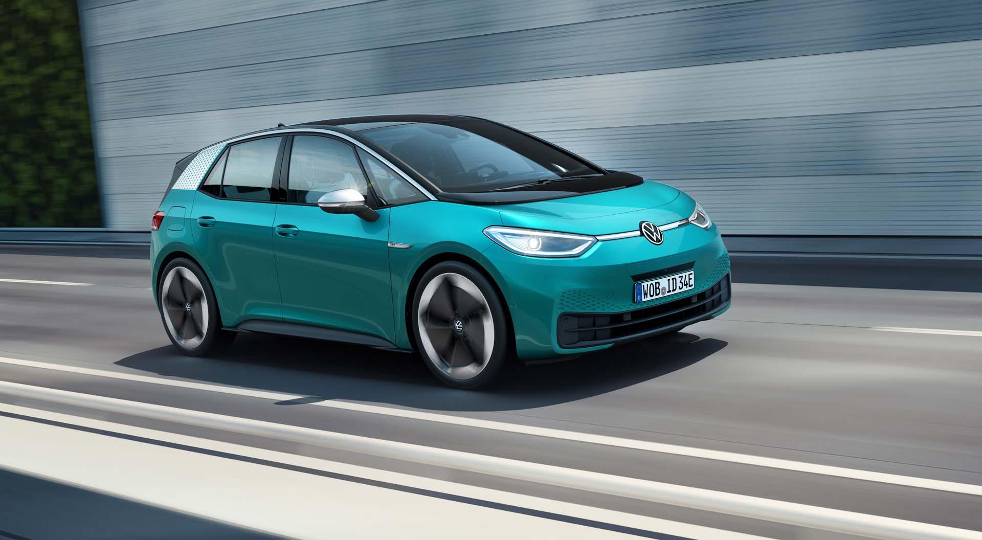 Volkswagen ID.3 electric car gets range-extending rubber