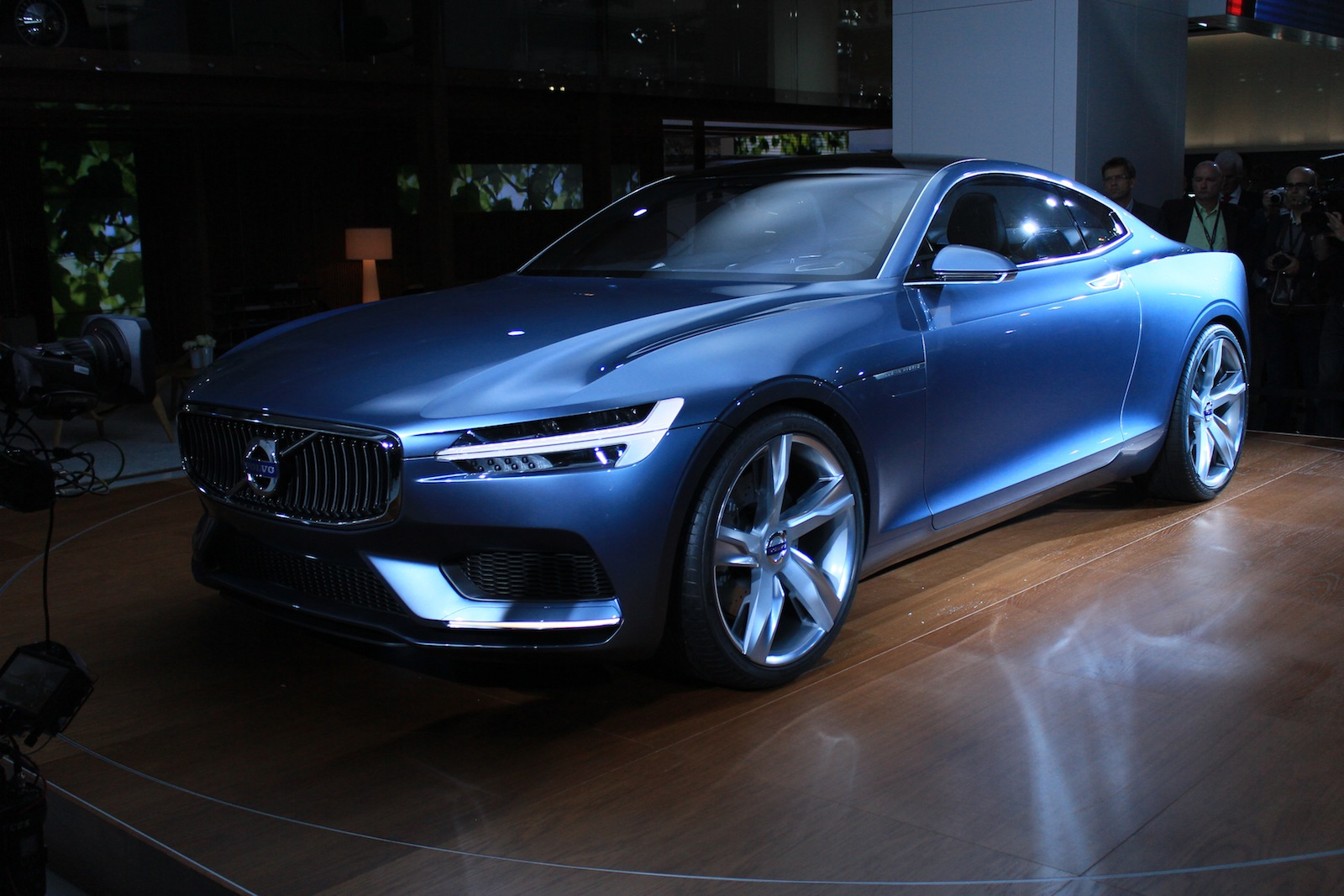 Volvo Concept Coupe Live From Frankfurt