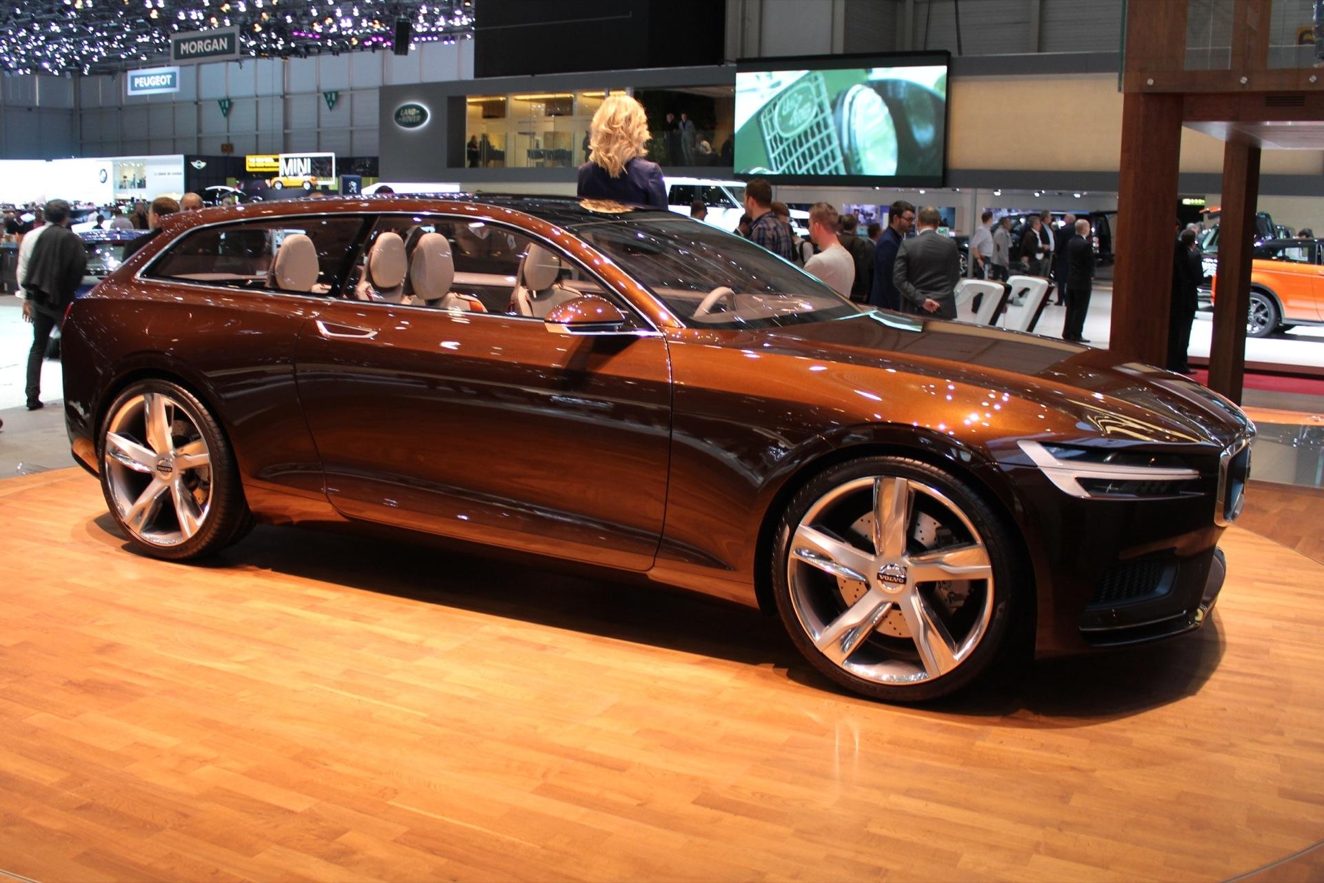 Volvo Concept Estate: 2014 Geneva Motor Show Video And ...
