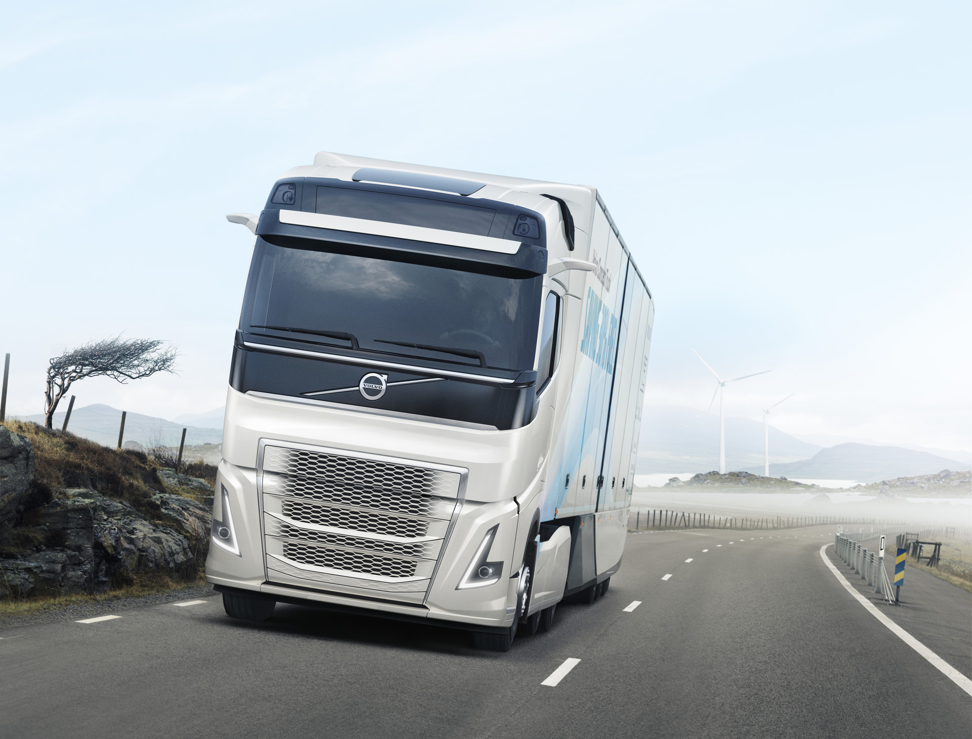 Volvo Truck Concept Uses 30 Percent Less Fuel Thanks To Weight Better Aero