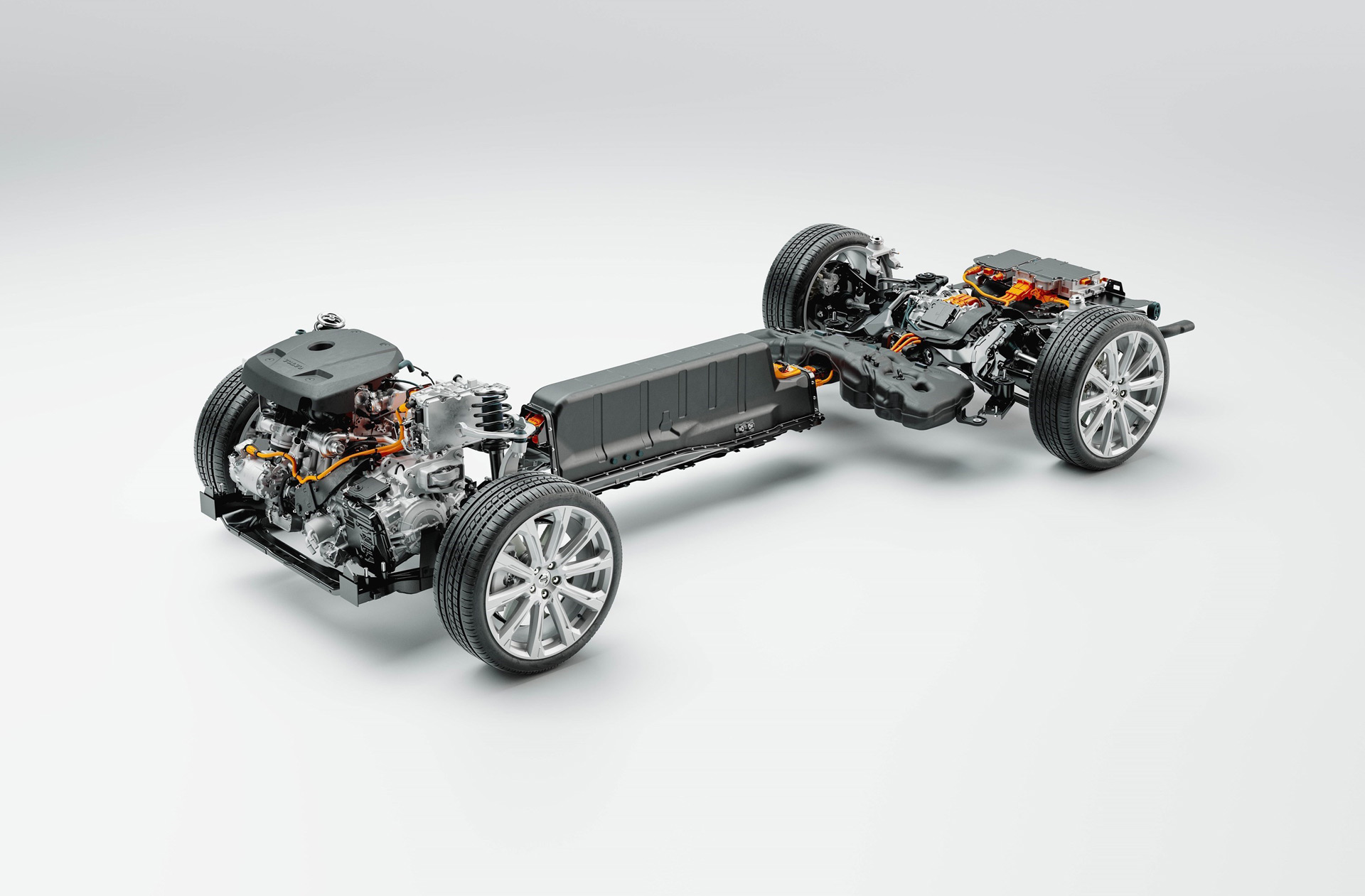 Volvo adds power, range to 60- and 90-series plug-in