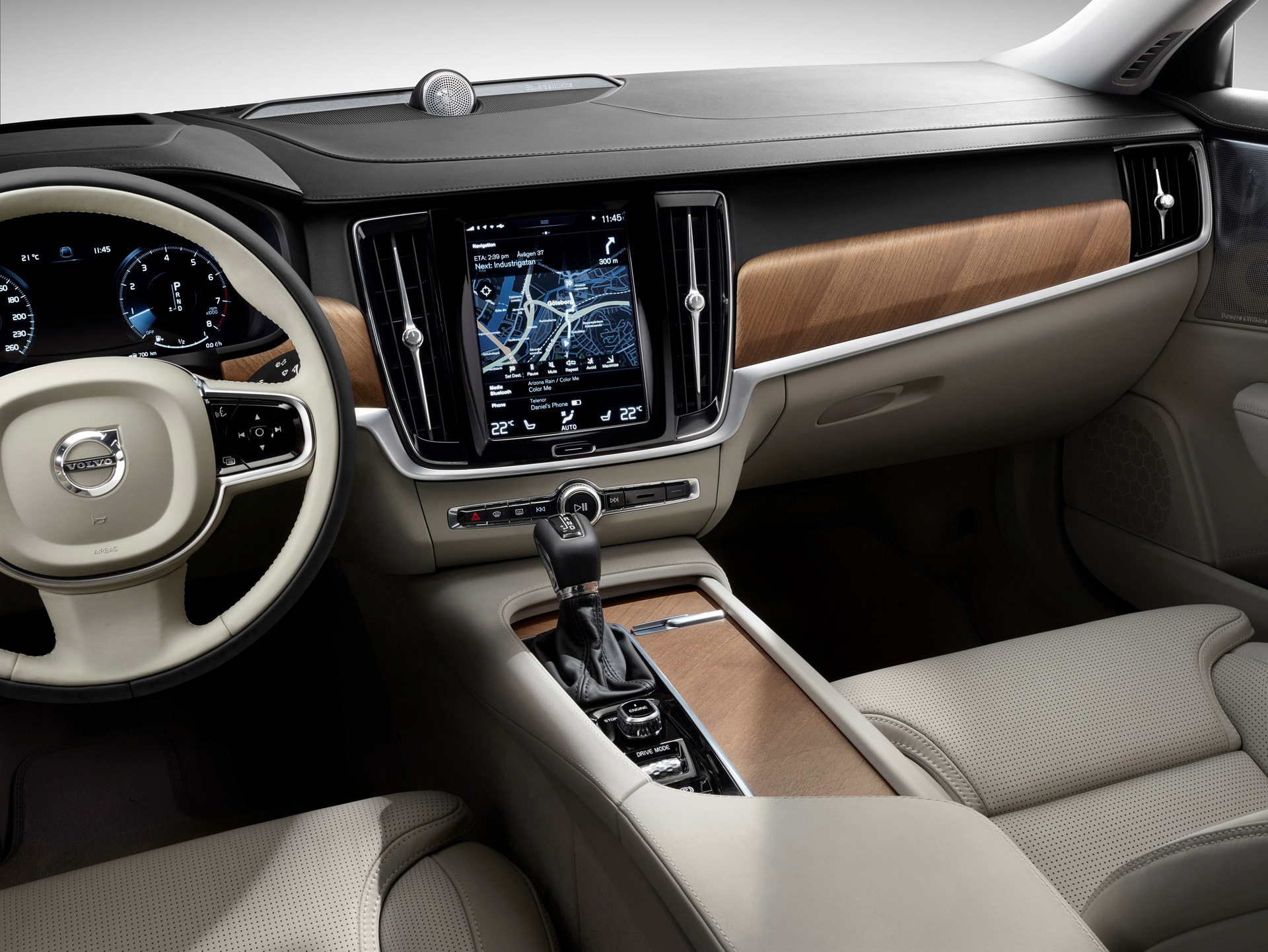 get a feel for the 2017 volvo s90 u2019s interior in new video