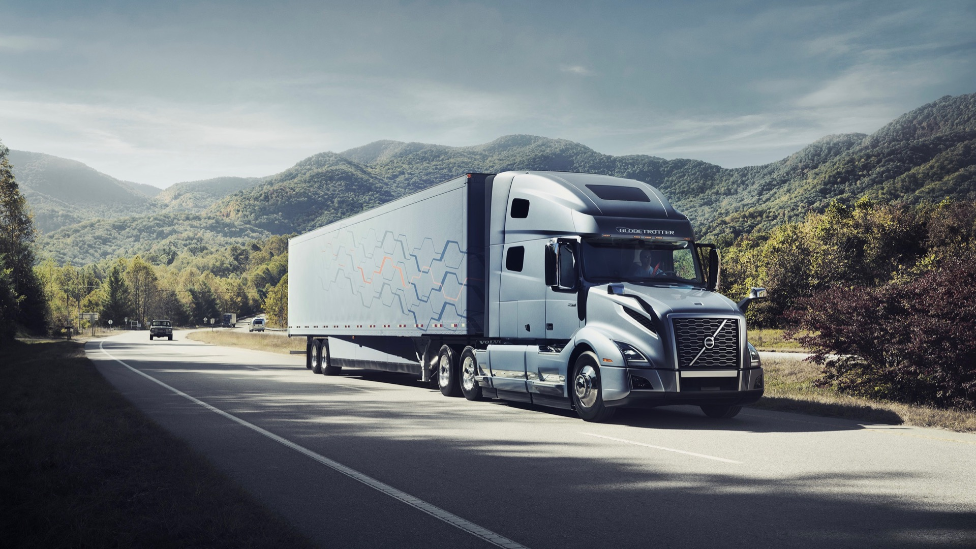 Daimler and Volvo Trucks will jointly make hydrogen fuel cells for commercial vehicles