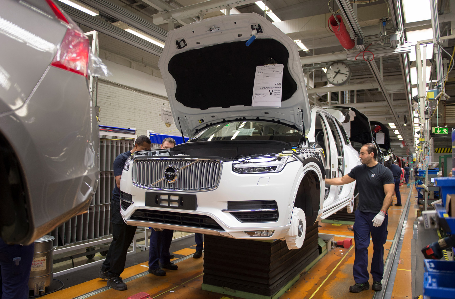 Volvo Picks South Carolina For Us Plant
