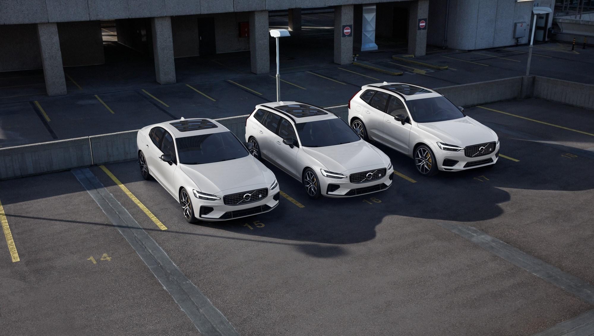 2020 Volvo Xc60 T8 2020 V60 T8 Plug In Hybrids Get Polestar
