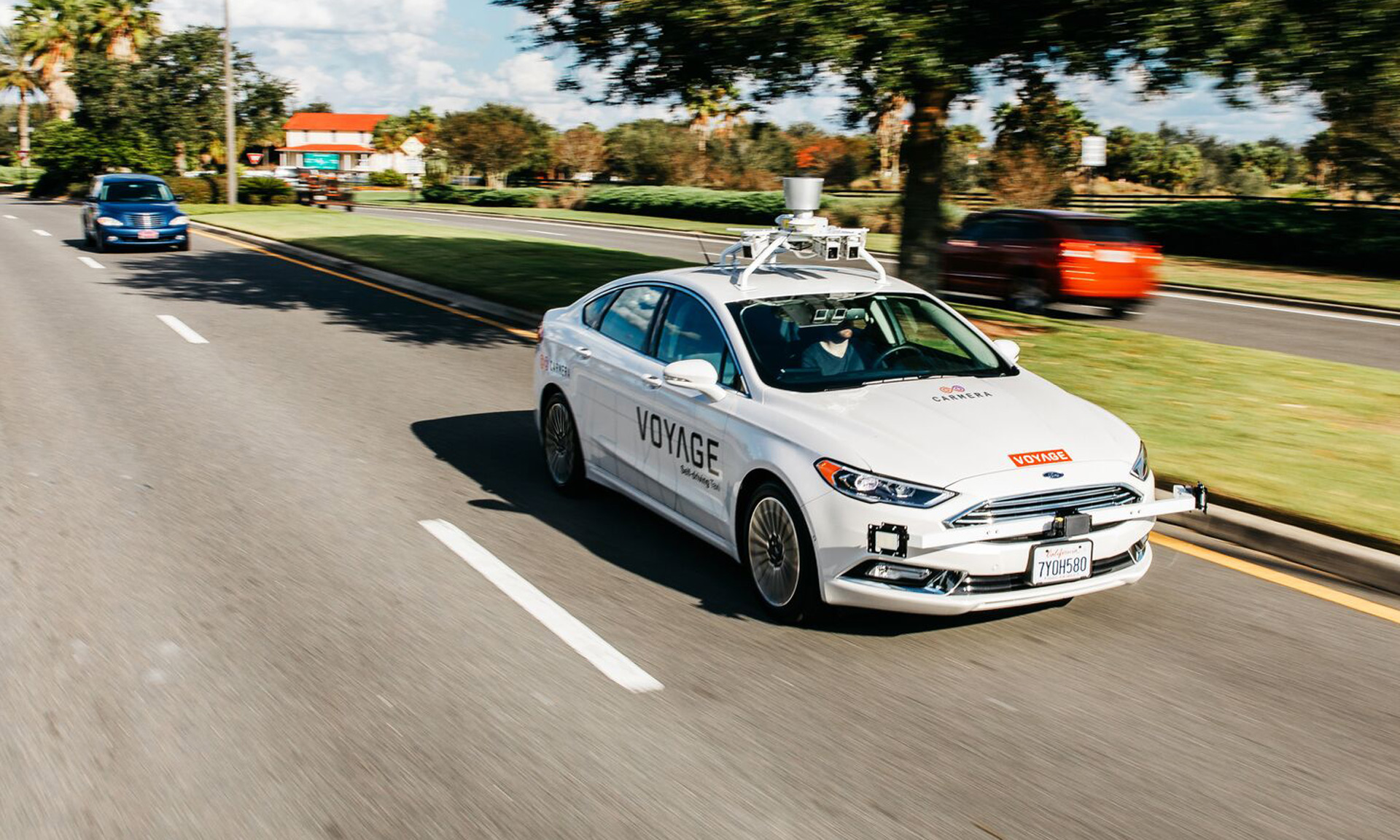 Jaguar Land Rover invests in self-driving startup Voyage