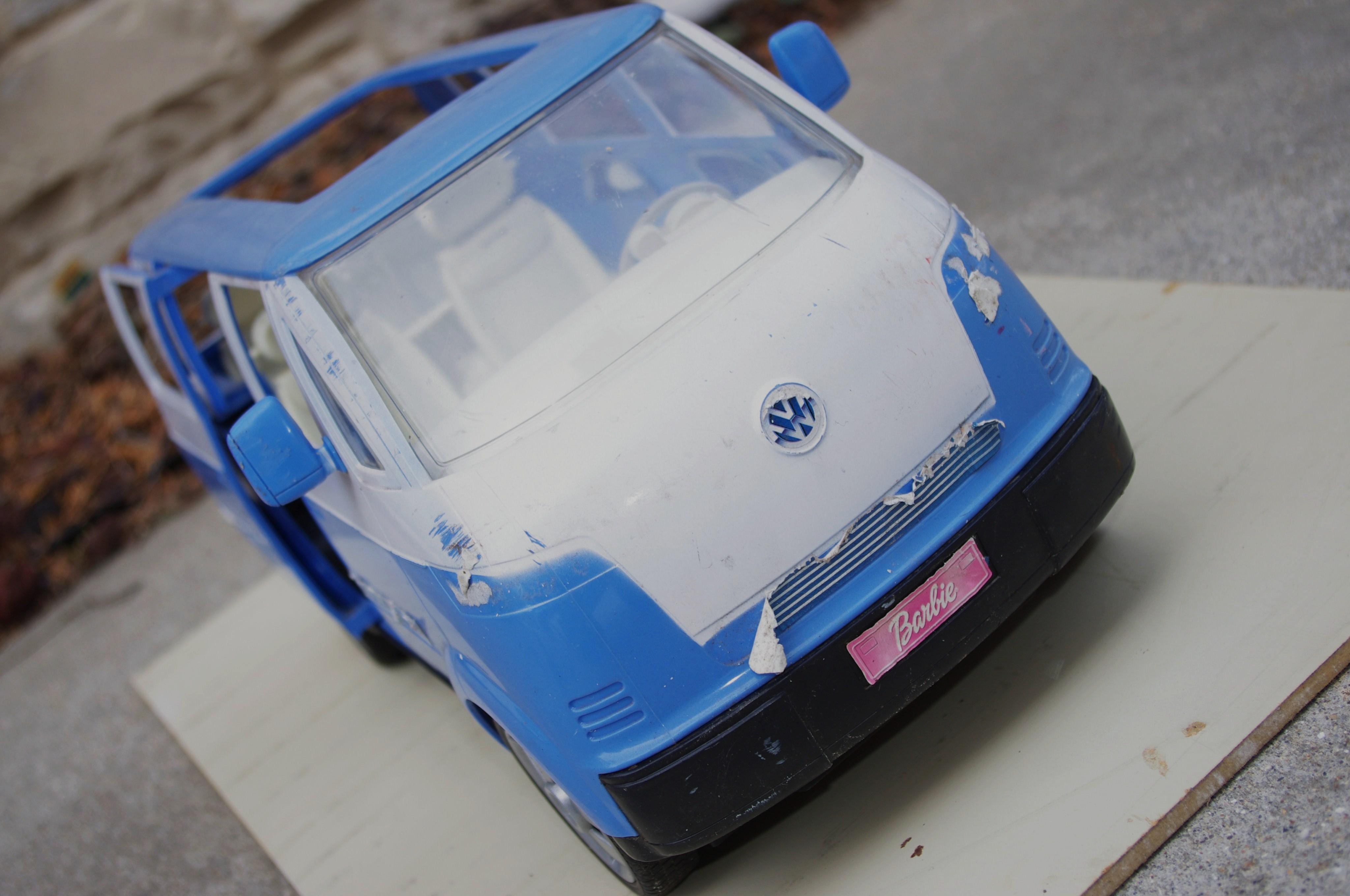 Minivans For Sale >> Magic Bus: VW's Bulli or Barbie's Rolling Boutique?