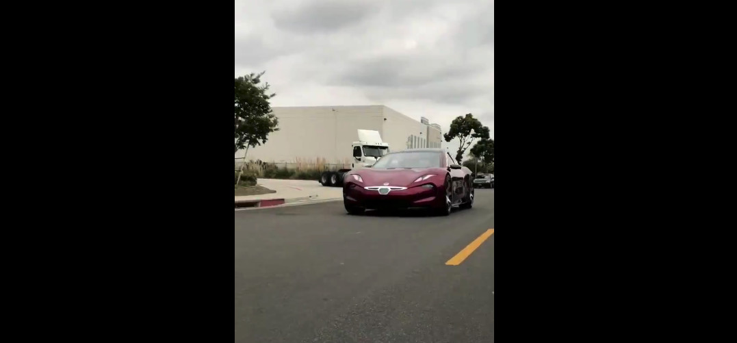 Watch the Fisker Emotion drive under its own power