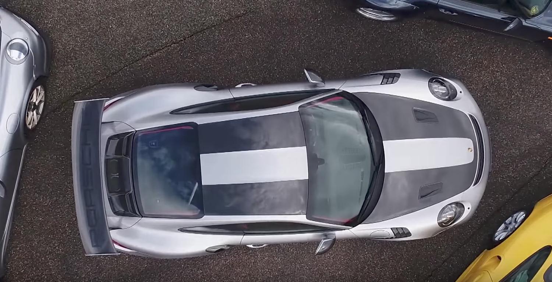 Watch the 2018 Porsche 911 GT2 RS blow past 200 mph