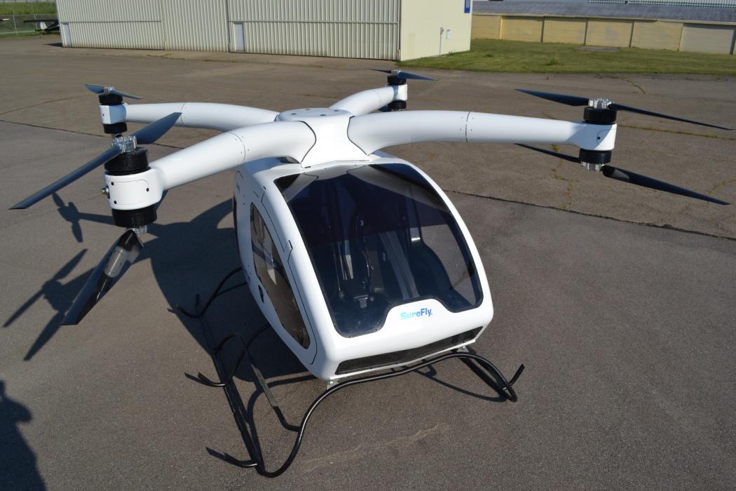 Van builder Workhorse unveils hybrid helicopter