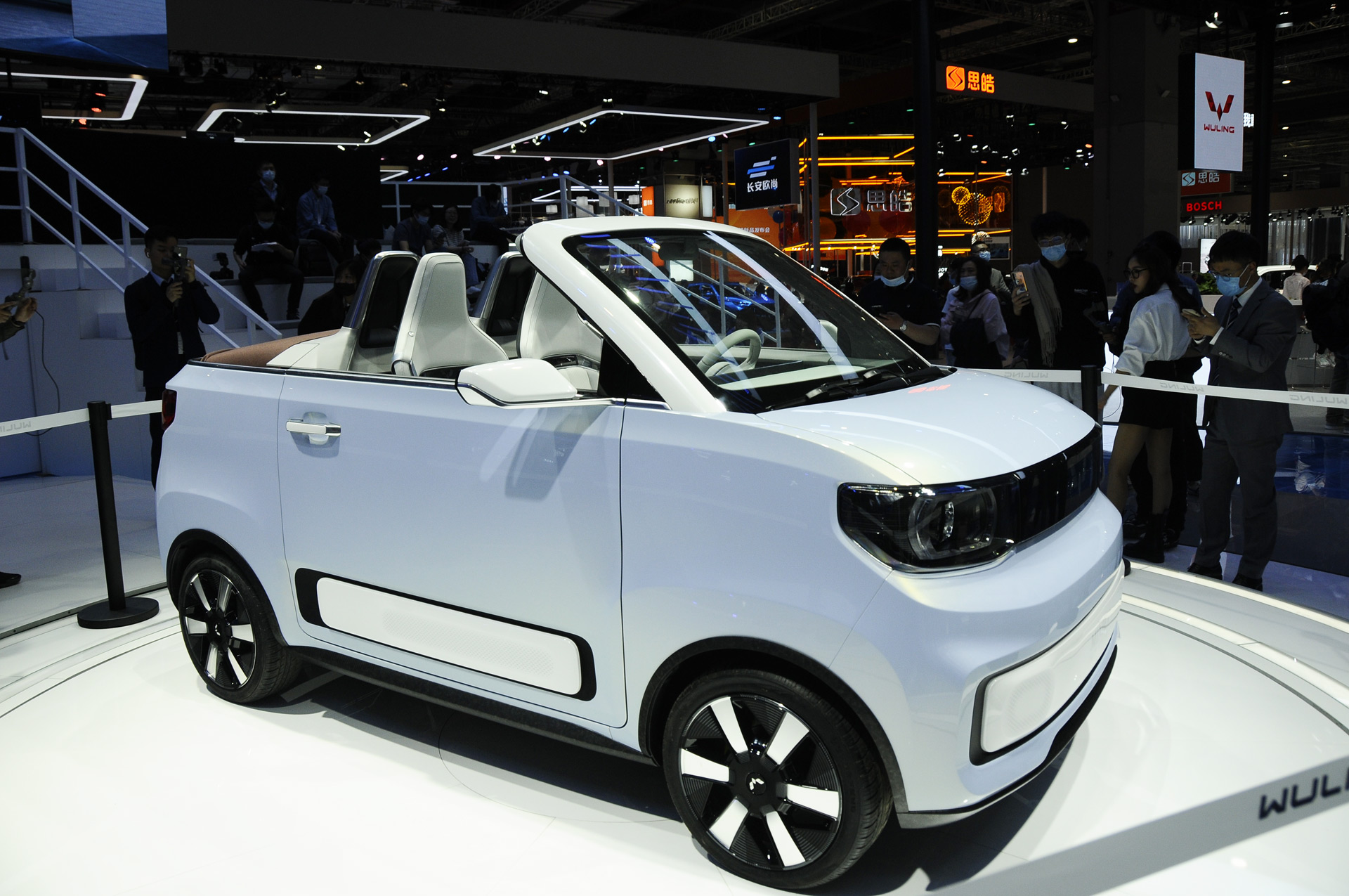 Dartz's Freze brand to launch Froggy electric convertible previewed by Shanghai concept