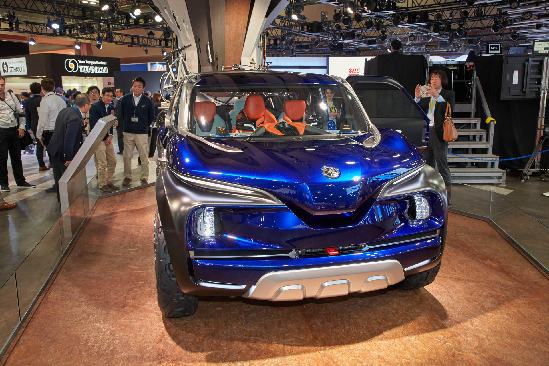 Yamaha Cross Hub Is A Pint Sized Pickup Truck Concept