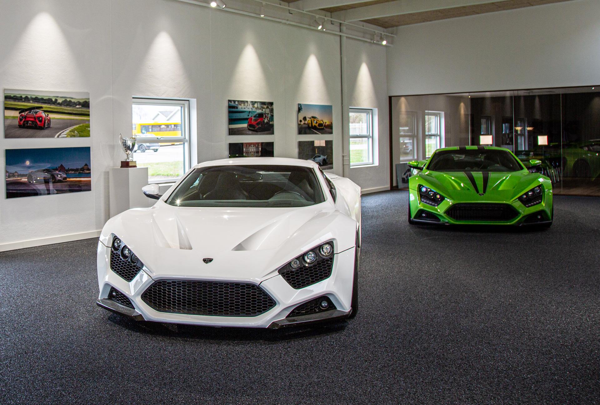 Zenvo upgrades plant, still building 5 cars per year
