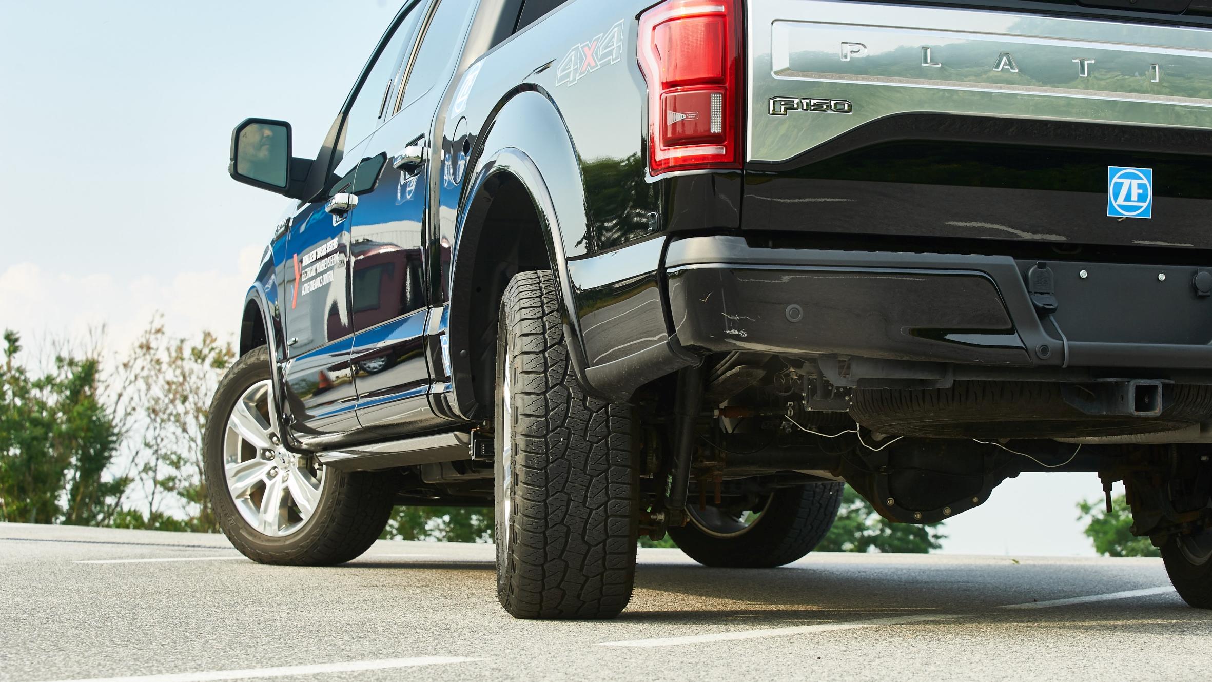 Rear wheel steering could radically change pickup trucks for Benetton 4 wheel steering