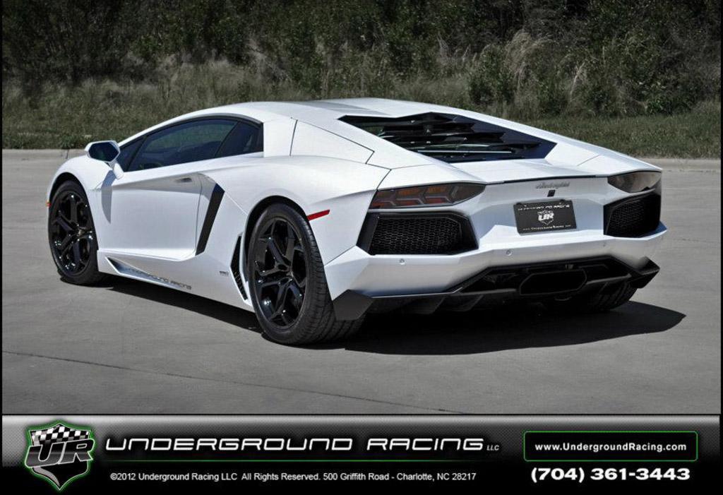 Image: 1,200-horsepower Lamborghini Aventador LP 700-4 built by ...