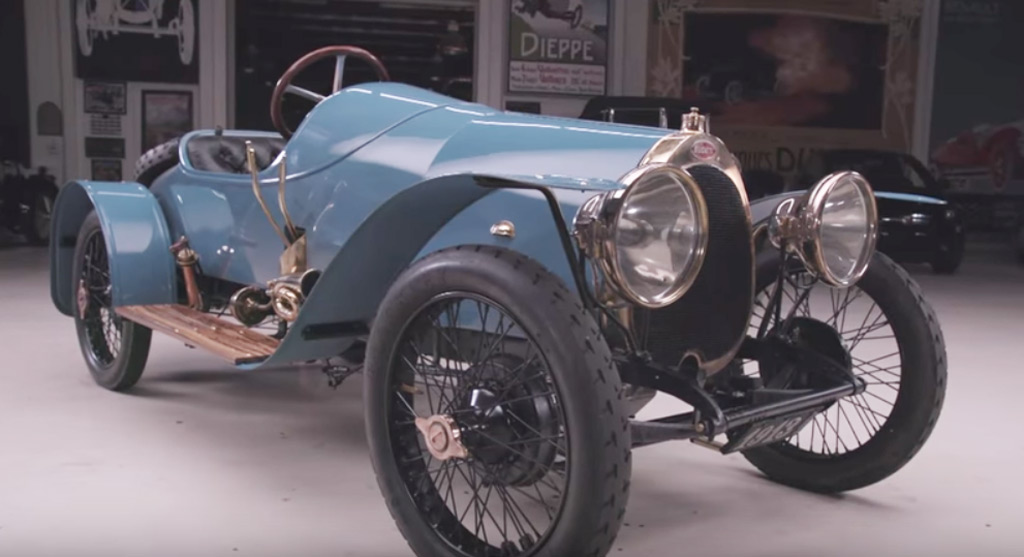 Oldest Driveable Bugatti Stops By Jay Leno S Garage