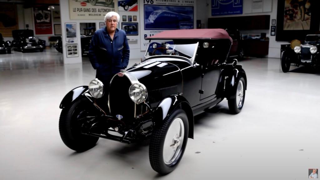 1929 Bugatti Type 40 Grand Sport Featured On Jay Leno S Garage