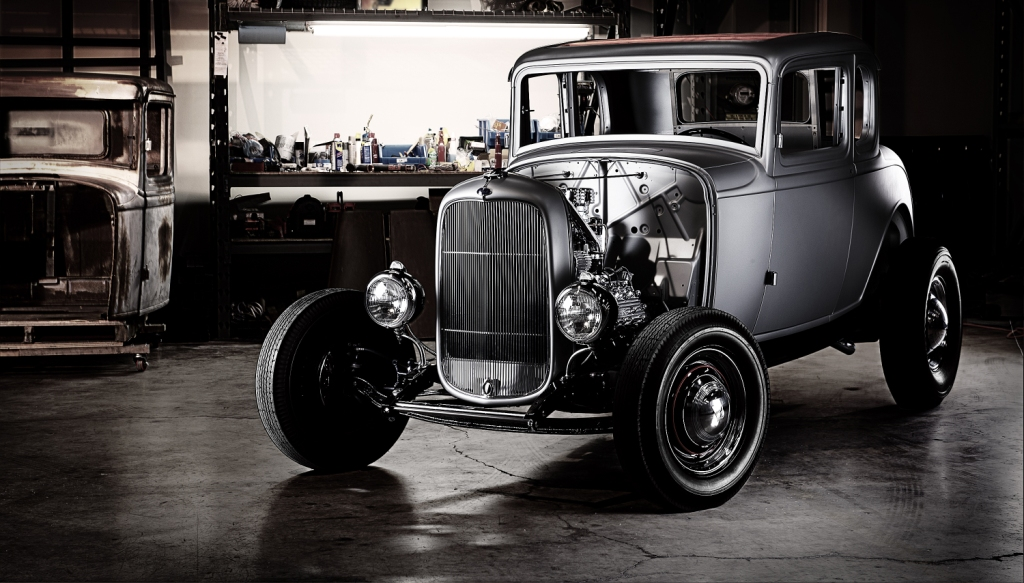 Ford's Latest Licensed Reproduction Body Shell Is The 1932 5-Window Coupe