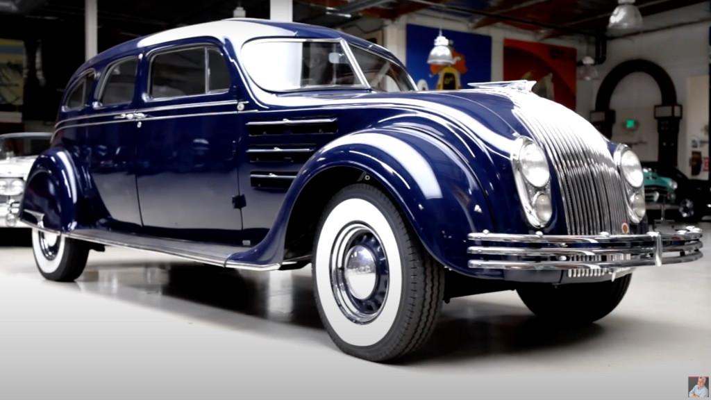 1934 Chrysler Airflow on Jay Leno's Garage