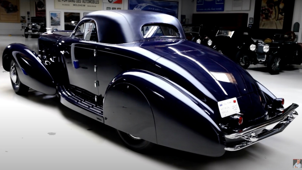 1934 Duesenberg Walker Coupe on Jay Leno's Garage