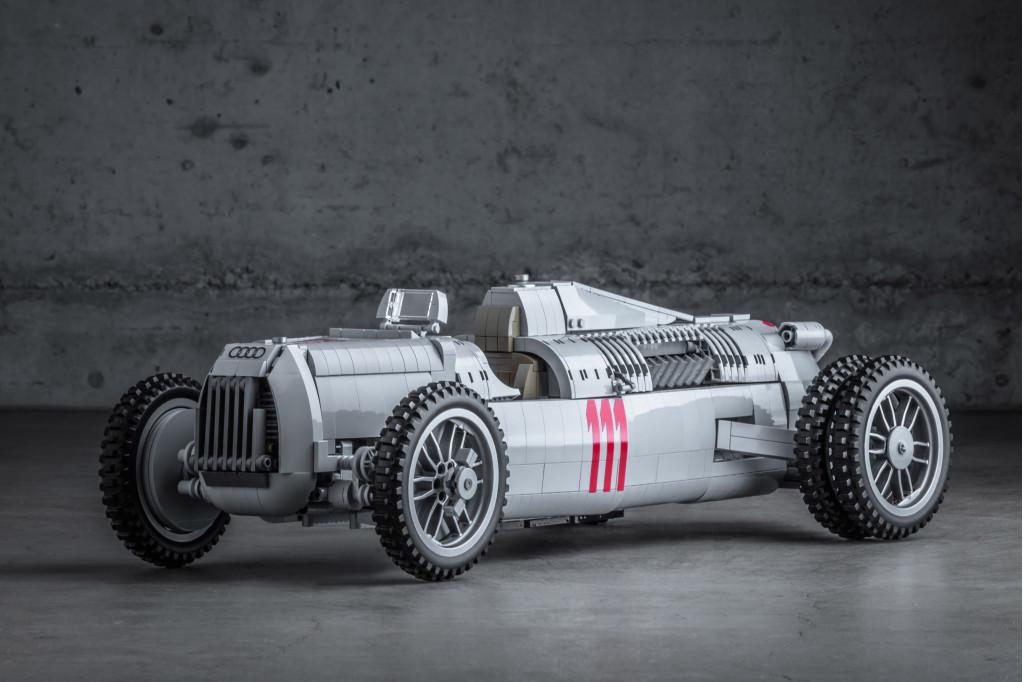 Help make this Auto Union Type C race car a Lego kit
