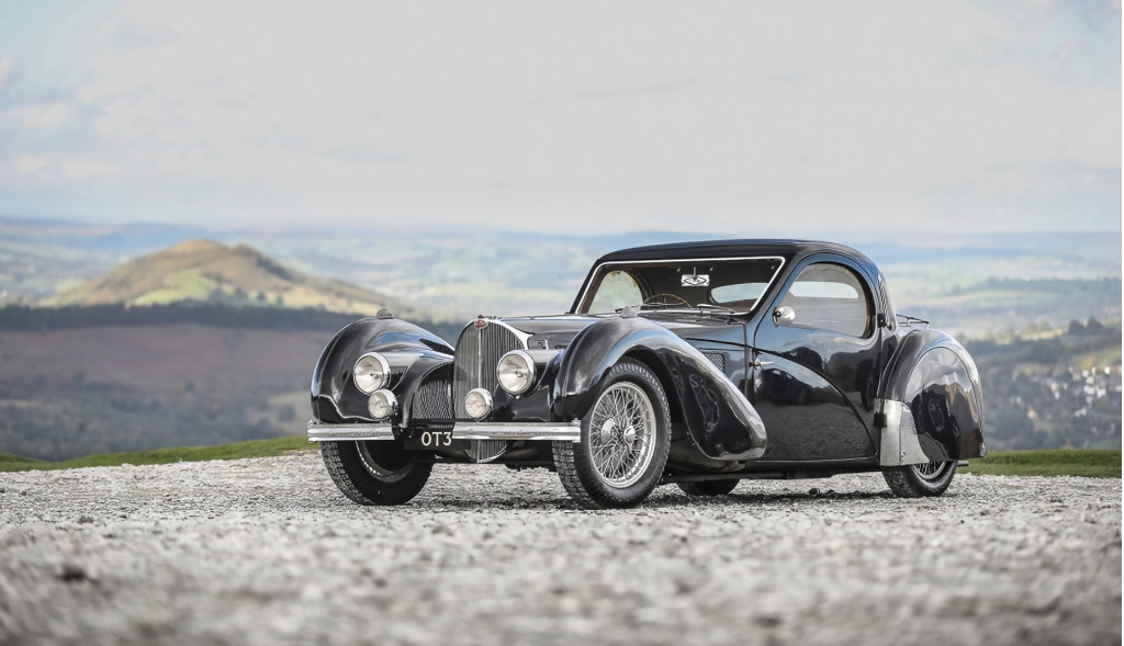 1937 Bugatti Type 57S Atalante chassis number 57502