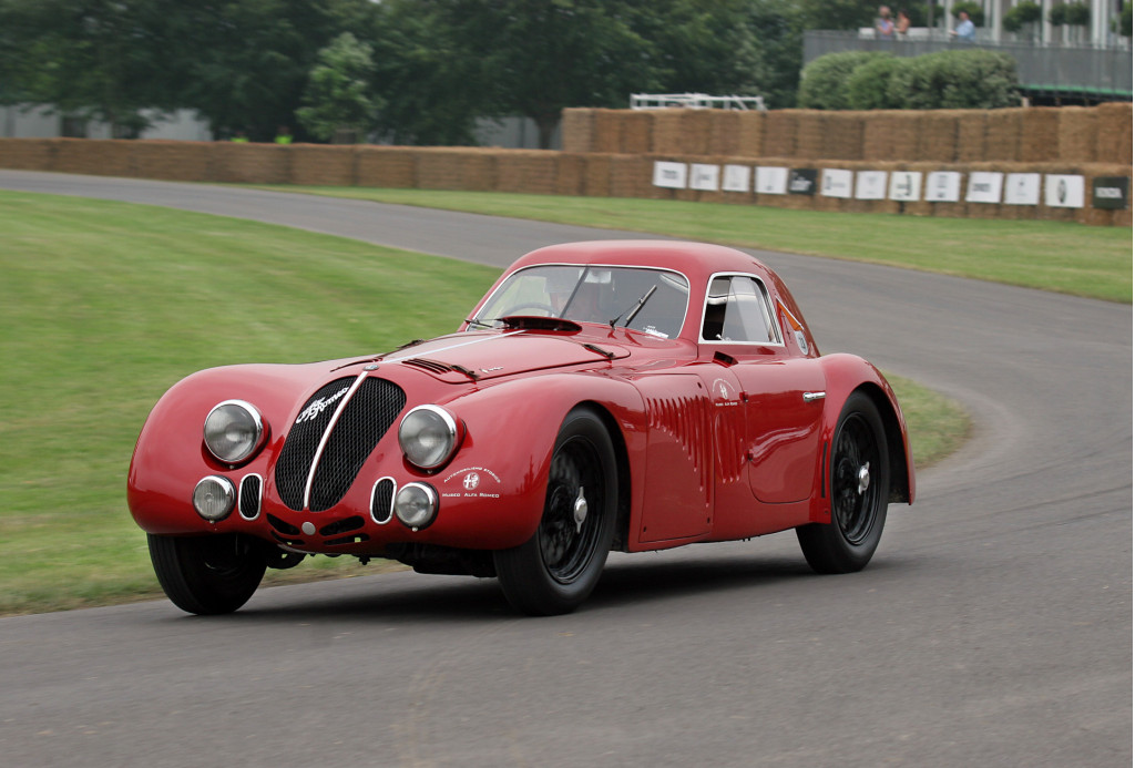 1938 Alfa Romeo 8C 2900B Speciale tipo Le Mans race car