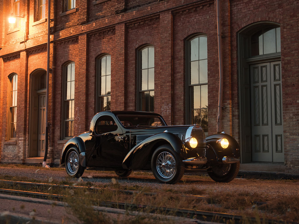 1938 Bugatti Type 57C Atalante Up For Auction