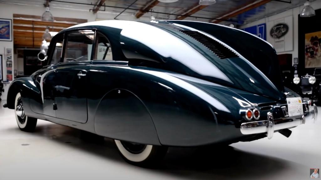 1938 Tatra T87 on Jay Leno's Garage