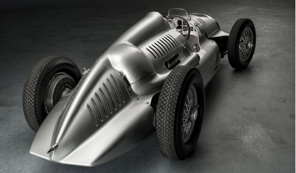 1939 Auto Union Type D twin-supercharger race car