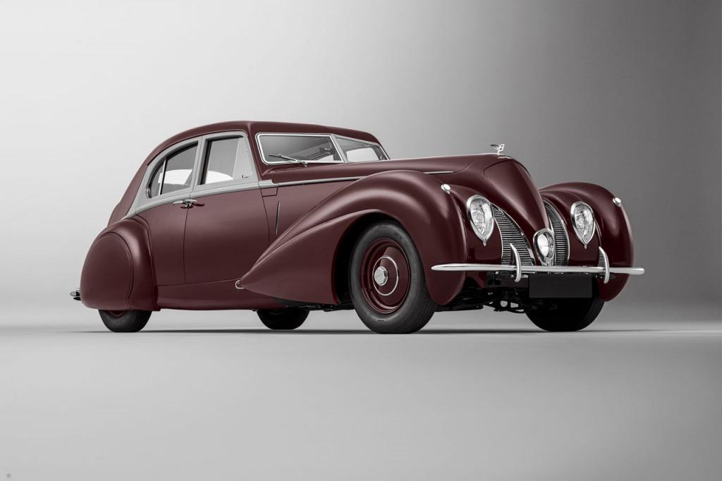 Bentley recreates missing-link Corniche lost in WWII