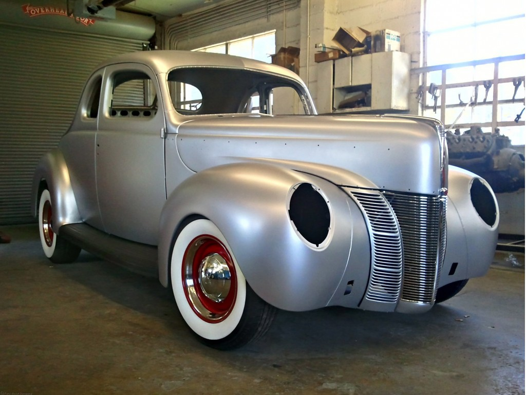 1940 Ford Coupe Joins List Of Ford Licensed Products Video