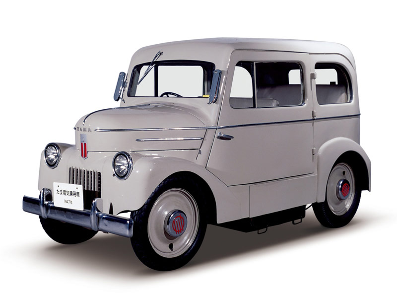 Nissan Leaf\'s Great-Grandfather: The Tama EV