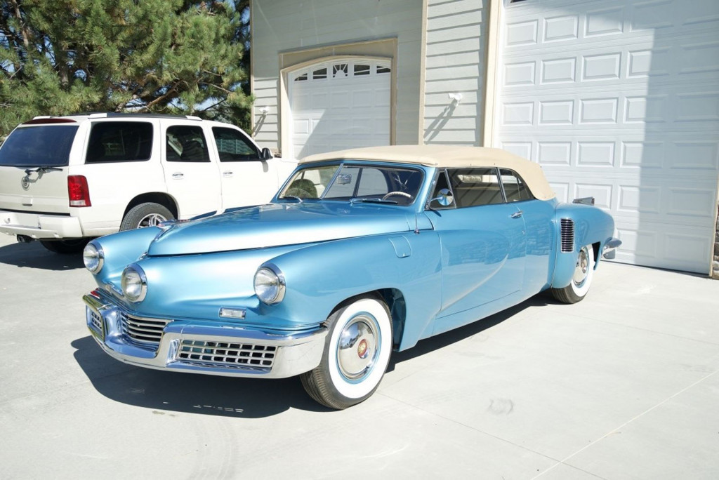 1948 Tucker convertible - Photo credit: Accelerate Auto Group/eBay