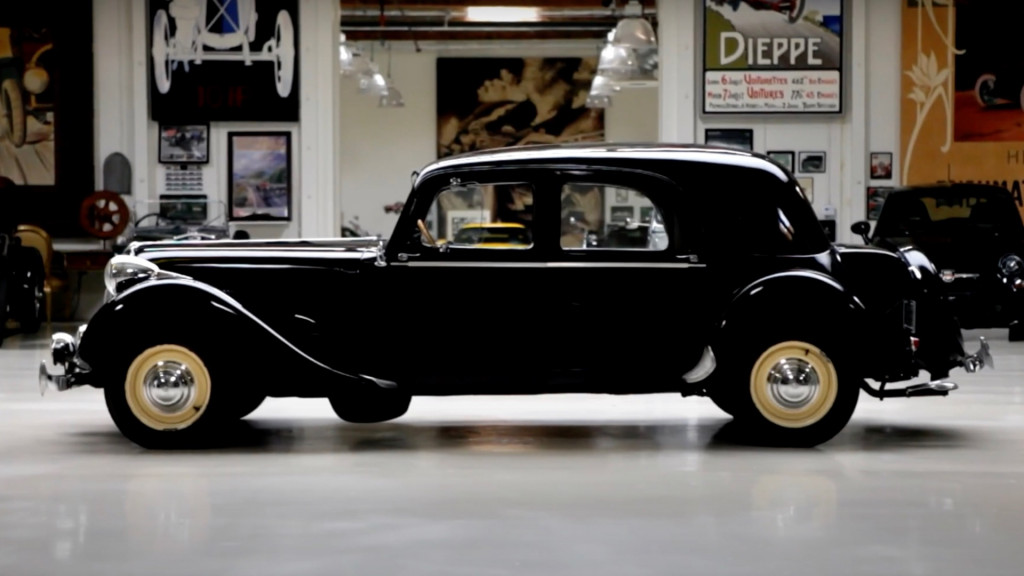1949 Citroën Traction Avant on Jay Leno's Garage