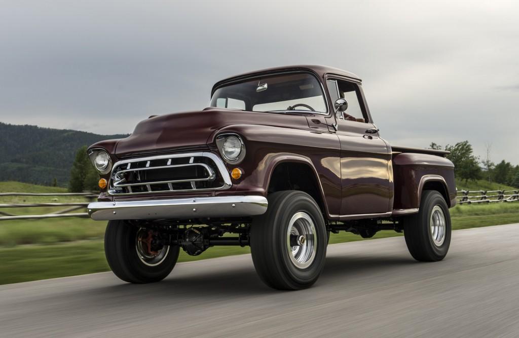 Legacy Classic Trucks returns with 1950s Chevy NAPCO 4x4