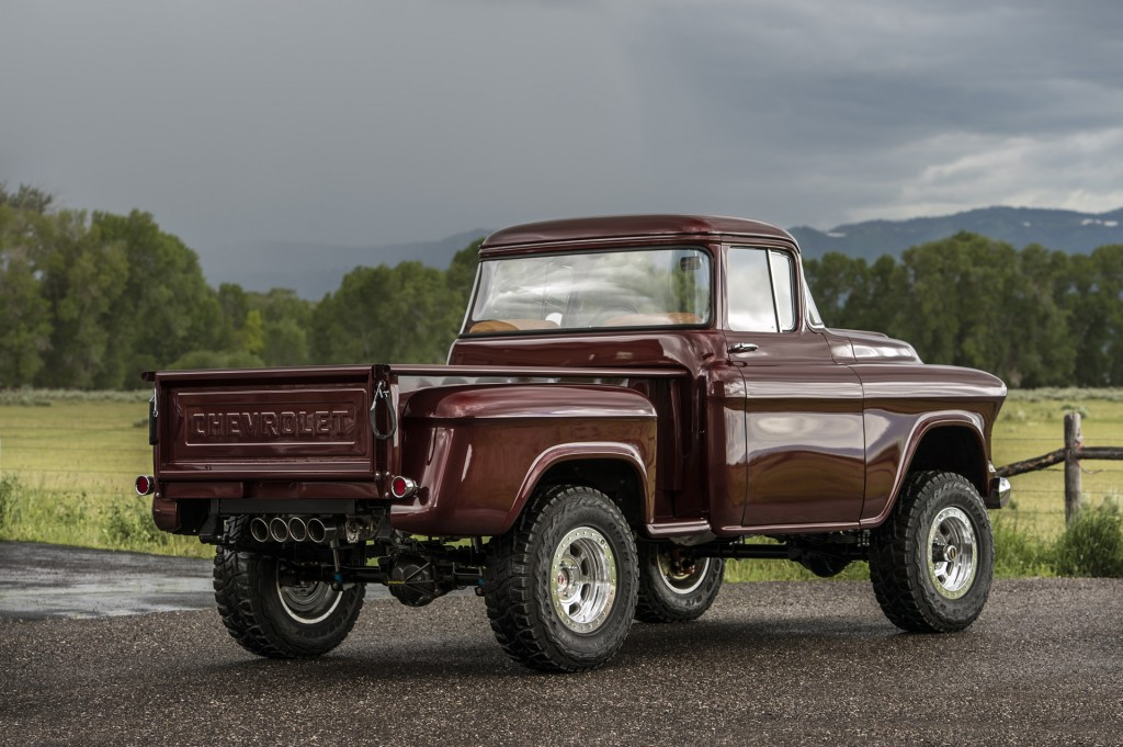 Image: 1950s Chevy NAPCO 4x4 by Legacy Classic Trucks ...