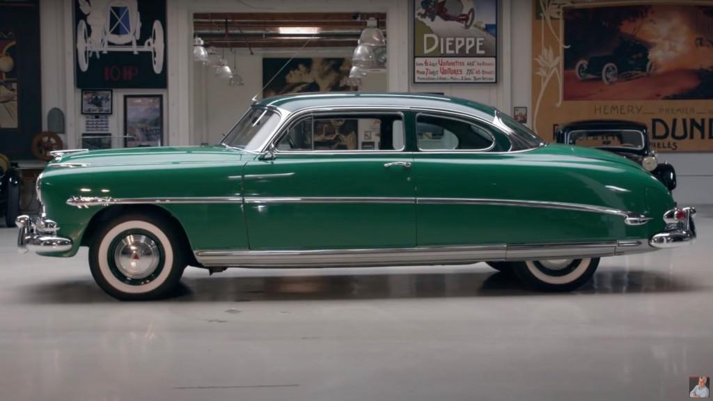 1953 Hudson Hornet on Jay Leno's Garage